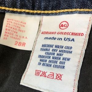 Ag Adriano Goldschmied Jeans - Adriano Goldschmied The Shorty cuffed jeans